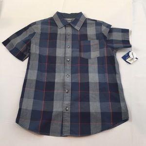 New boy button shirt